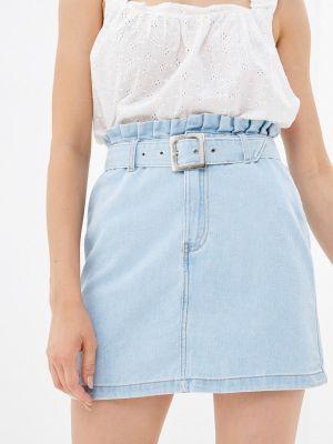 Джинсовая юбка - голубая Tiffosi