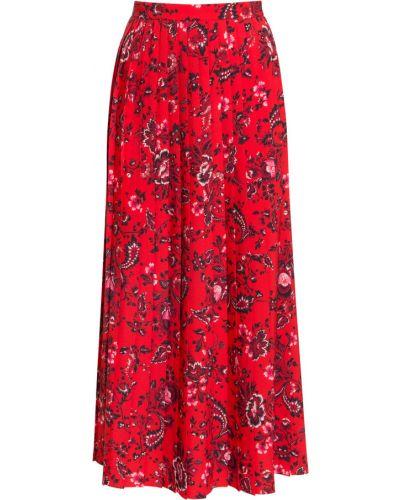 Czerwona spódnica Erdem