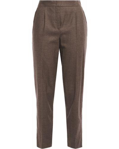 Ażurowe spodnie wełniane Akris