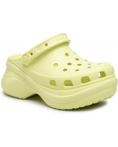 Klasyczne zielone chodaki Crocs