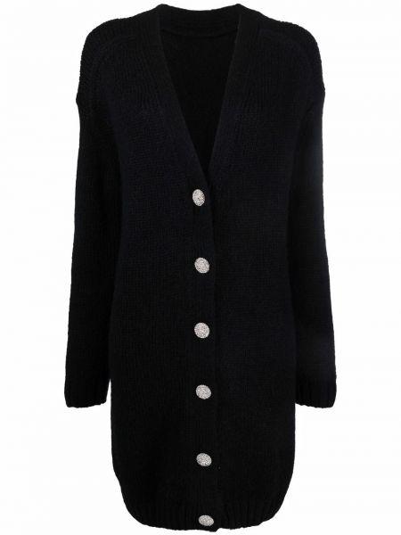 Платье макси с длинными рукавами - черное Ba&sh