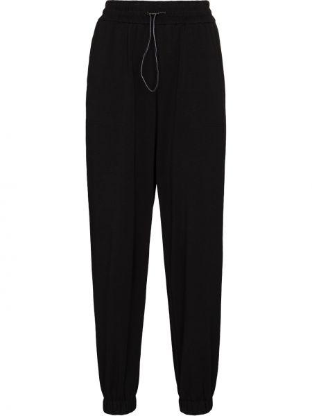 Czarne spodnie bawełniane Varley