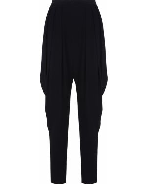 Брюки брюки-галифе из вискозы Alexander Mcqueen