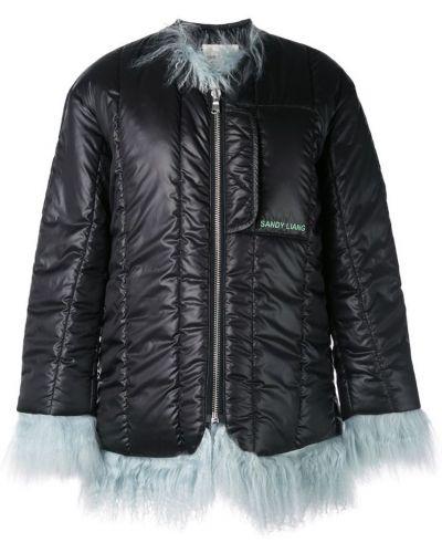 Черная куртка Sandy Liang