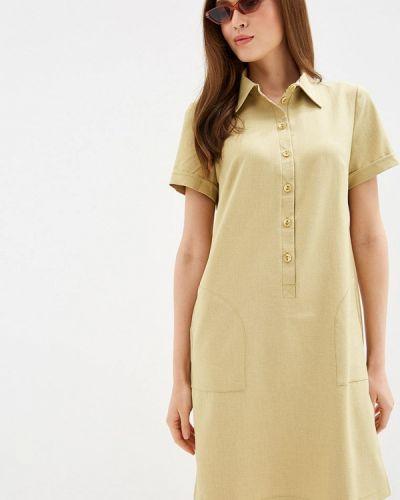 Платье платье-рубашка осеннее Viserdi