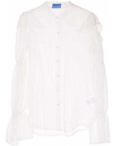 Блузка с длинным рукавом прозрачная классическая Macgraw