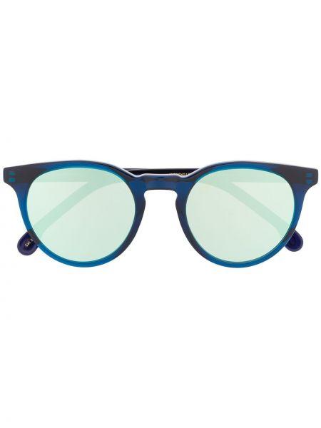 Прямые темно-синие солнцезащитные очки с завязками Paul Smith Eyewear
