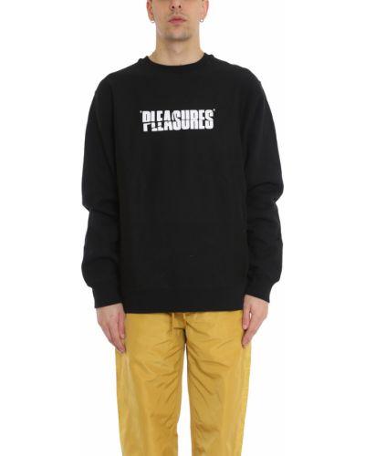 Czarna bluza dresowa Pleasures
