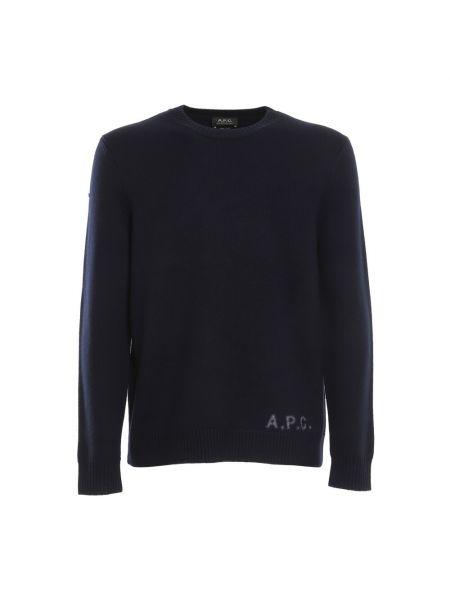 Niebieski pulower A.p.c.