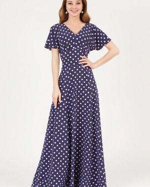 Повседневное платье весеннее фиолетовый Marichuell