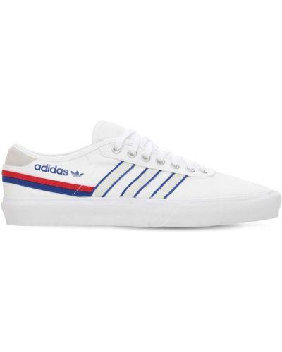 Bawełna koronkowa sneakersy zasznurować Adidas Originals