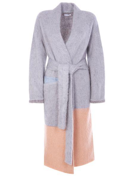 Шерстяное пальто - бежевое Vionnet