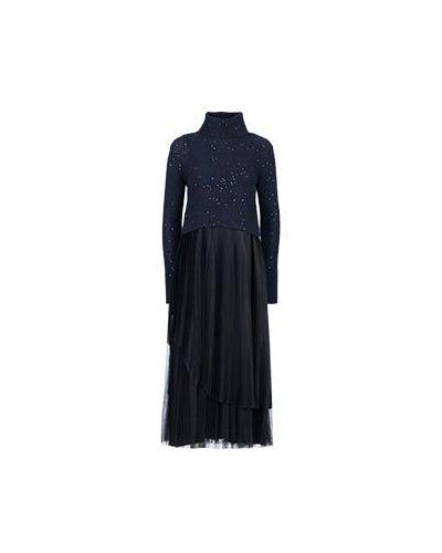 Повседневное платье синее Fabiana Filippi