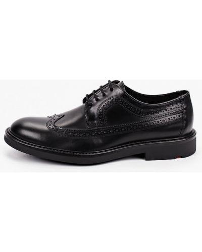 Черные кожаные туфли Lloyd