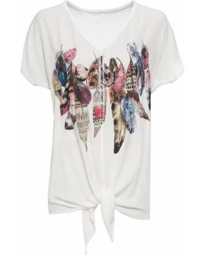 Блузка боди со стразами Bonprix