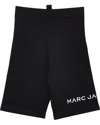 Черные нейлоновые спортивные шорты с вышивкой Marc Jacobs
