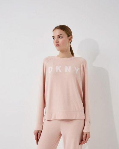 Розовая толстовка Dkny