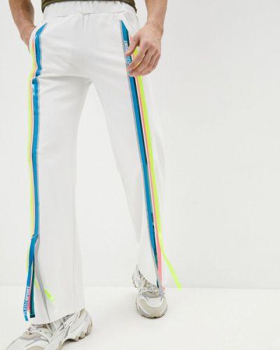 Белые спортивные брюки Plein Sport