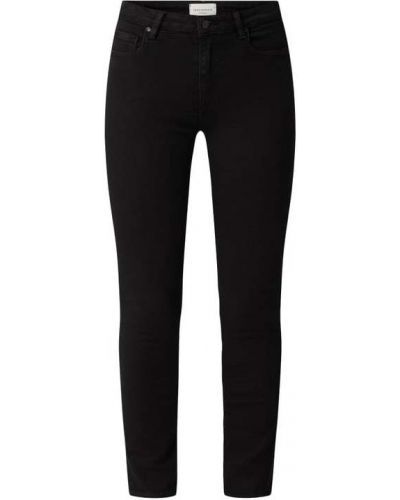 Czarne mom jeans bawełniane Armedangels