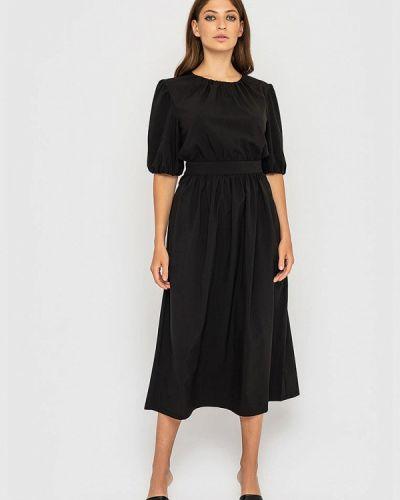 Прямое платье - черное Sfn
