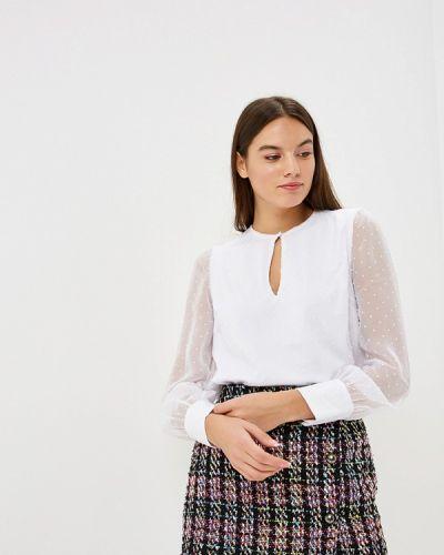 Блузка с длинным рукавом белая Modis