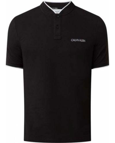 Czarna koszulka bawełniana Ck Calvin Klein