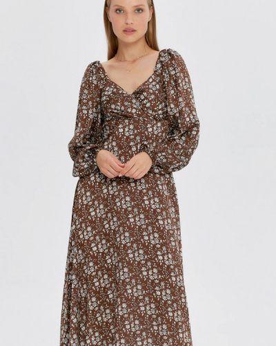 Прямое платье - коричневое Cardo