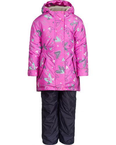 Спортивный костюм серый розовый Jicco