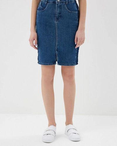 Синяя джинсовая юбка Ichi