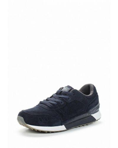 Синие велюровые кроссовки Strobbs