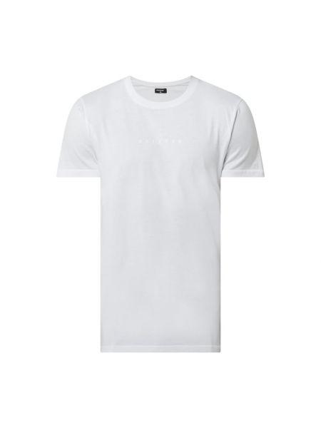 Biały t-shirt bawełniany z printem Raizzed