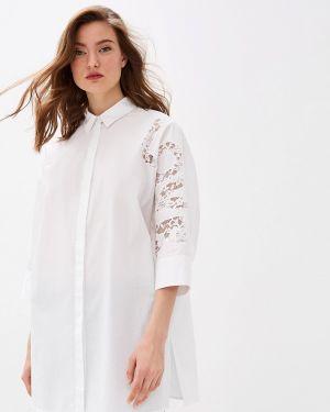 Рубашка с длинным рукавом белая Escada Sport