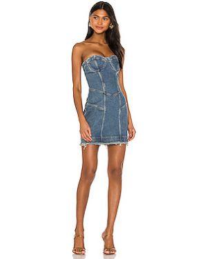 Платье мини джинсовое винтажная Retrofete
