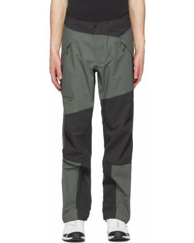 Парусиновые брюки - черные Klättermusen