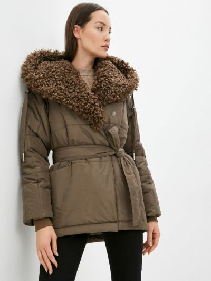 Утепленная куртка - хаки D`imma