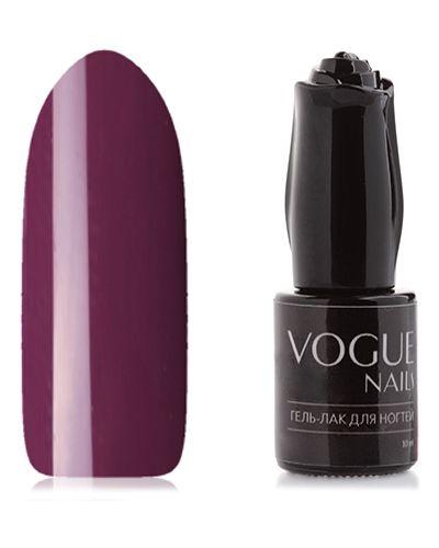 Фиолетовый лак для ногтей из плотной ткани Vogue Nails