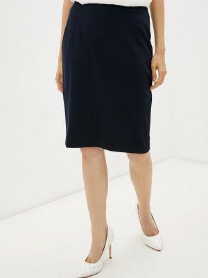 Прямая юбка - синяя Gerry Weber