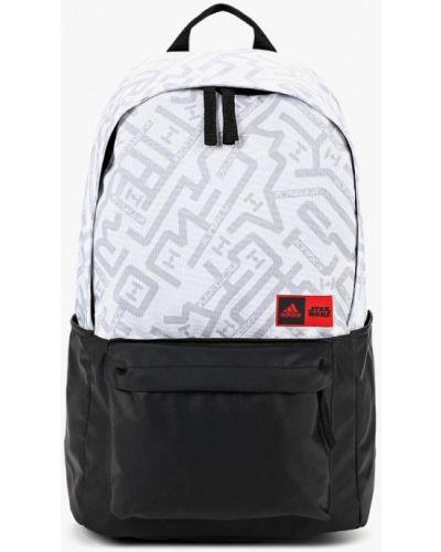 Серый рюкзак из полиэстера Adidas