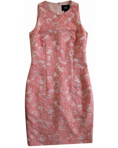 Różowa sukienka Roberto Cavalli