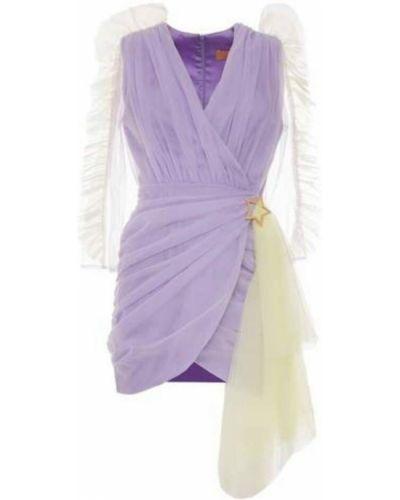 Fioletowa sukienka mini Teen Idol