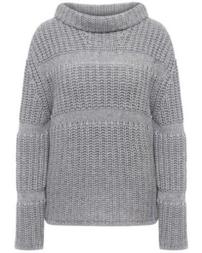 Кашемировый серый свитер Giorgio Armani