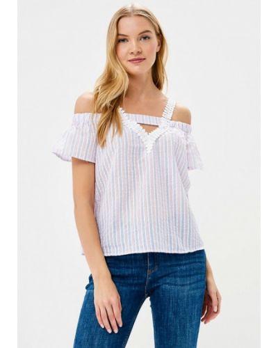 Блузка с открытыми плечами фиолетовый Care Of You