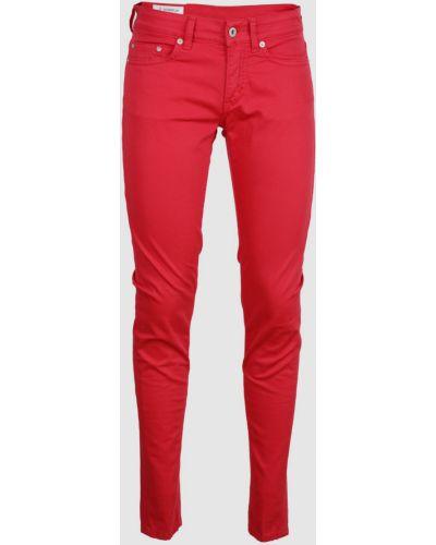 Красные джинсы Dondup