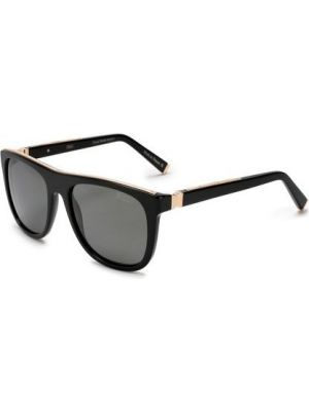 Солнцезащитные очки металлические с завязками со вставками Zilli