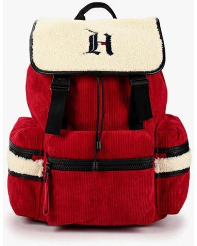 Рюкзак городской красный Tommy Hilfiger