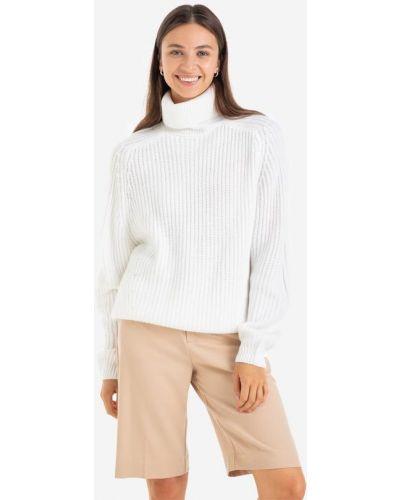 Свитер оверсайз - белый Gloria Jeans