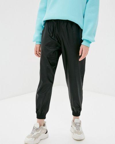 Кожаные черные брюки Rinascimento