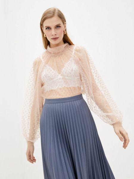 Блузка с длинным рукавом розовая весенний Imperial