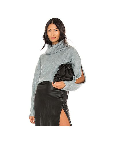 С рукавами акриловый свитер Kendall + Kylie