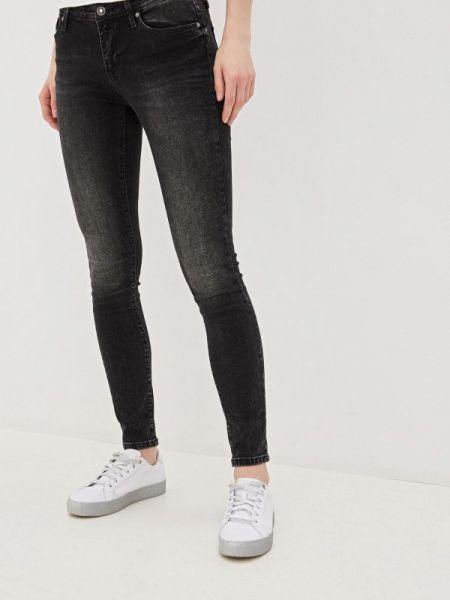 Серые джинсы-скинни с пайетками Colin's